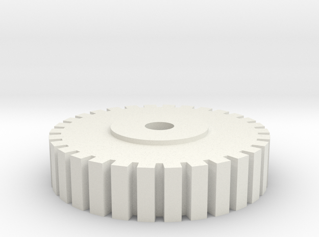 3D PRINTER BED Leveling knob  in White Natural Versatile Plastic