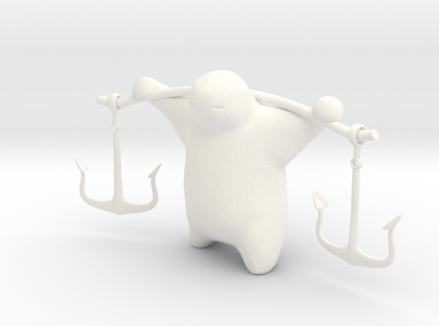 Anchor Guy 3d printed