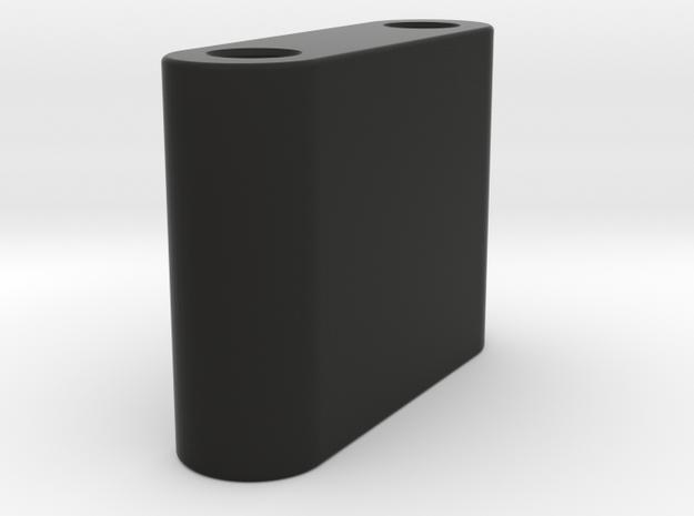 GF5 Tranny Riser Top Mount in Black Natural Versatile Plastic