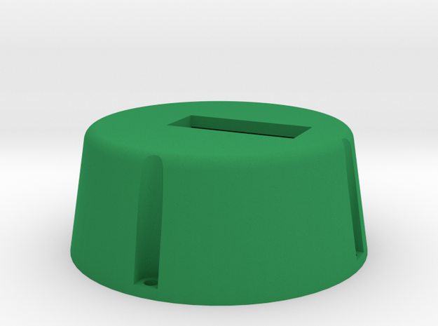 Grippy Bot - Base in Green Strong & Flexible Polished