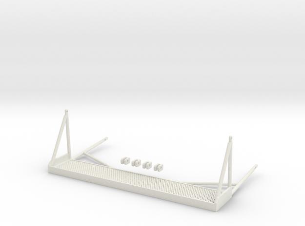 1.6 SIDE STEPS BELL412 X1 in White Natural Versatile Plastic