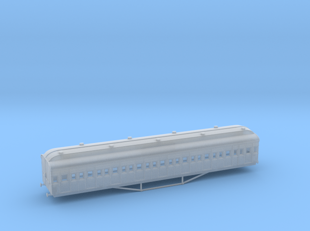 TT1 VR Tait T - Clerestrory Roof (259T/1G) in Smooth Fine Detail Plastic