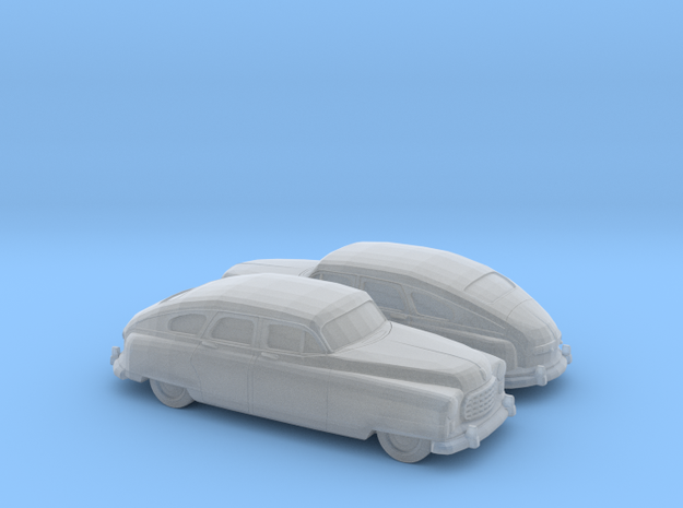 1/160 2X 1949-50 Nash Ambassador Sedan in Smooth Fine Detail Plastic