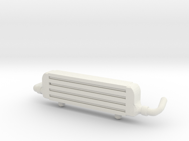 Front Mount Intercooler for Hot Wheels Cars in White Natural Versatile Plastic