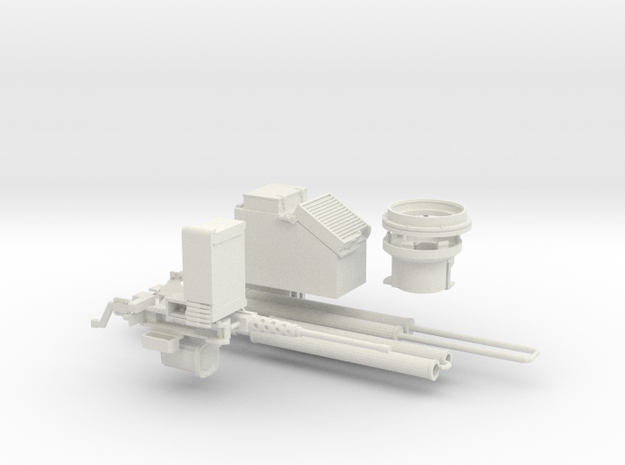 1:18 Tusk 2 Turret Set 1- B in White Strong & Flexible