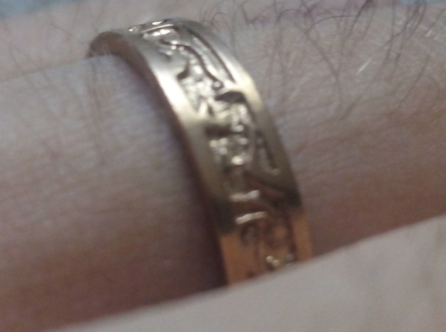 Ring of the Sun Princess, Size 6.5