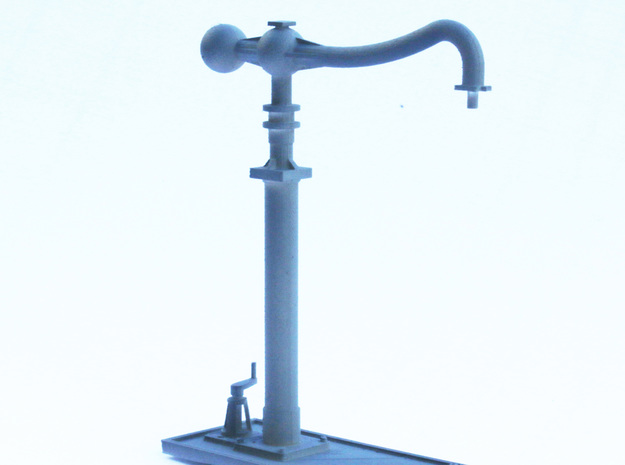 MR-LMS Water Column 4mm in Frosted Ultra Detail