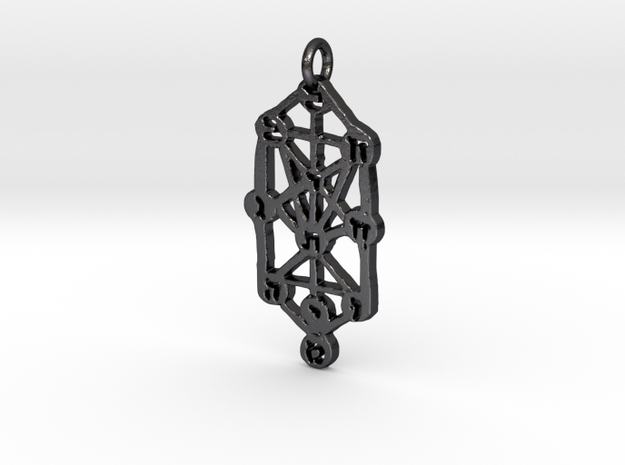 Sefirot in Polished and Bronzed Black Steel