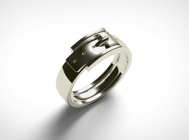 Belt Buckle Ring (Sizes 5 - 11.5) (Customisable)