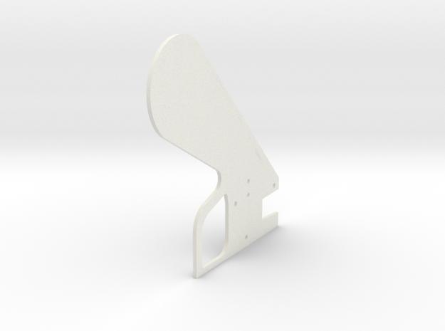 LPA NN-14 Grip Left in White Natural Versatile Plastic