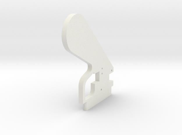 LPA NN-14 Grip Center in White Natural Versatile Plastic