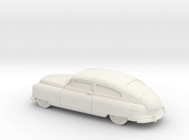 1/87 1949-50 Nash Ambassador Coupe in White Natural Versatile Plastic