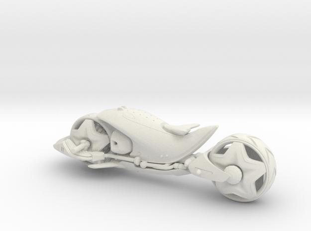 Bike E - from Concept Design Quest in White Natural Versatile Plastic