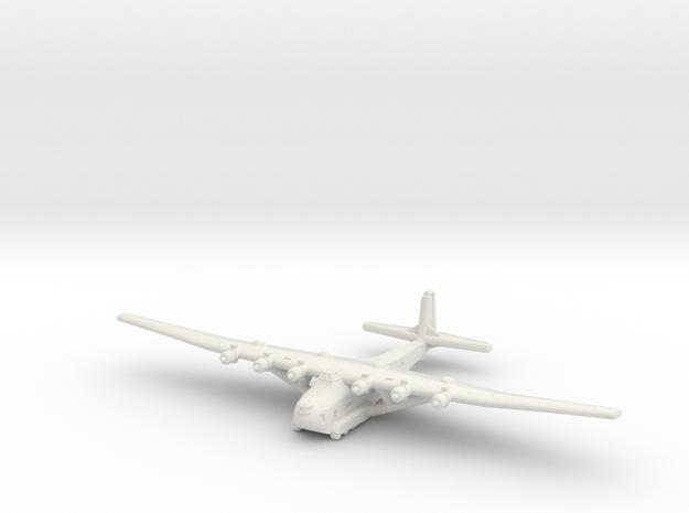 Me 323 E-2 WT-Gunship (1/285) in White Strong & Flexible