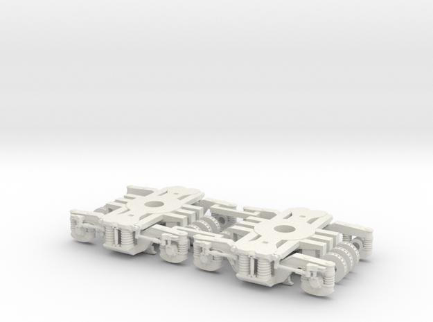 Bogie SGP300KK in White Strong & Flexible