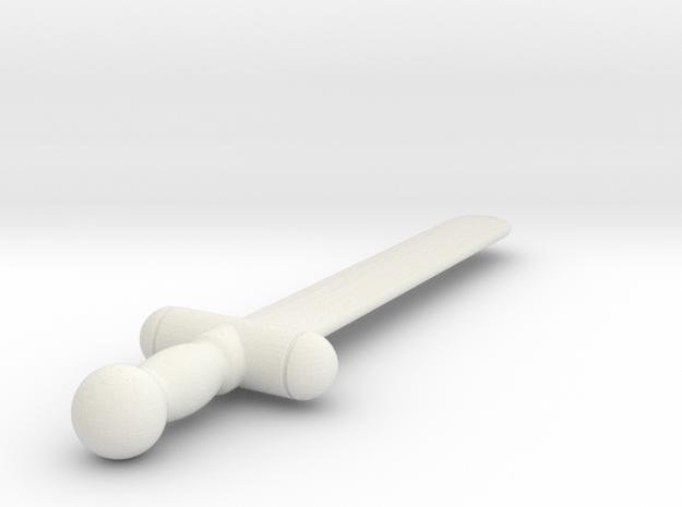 UEI (#31) in White Natural Versatile Plastic
