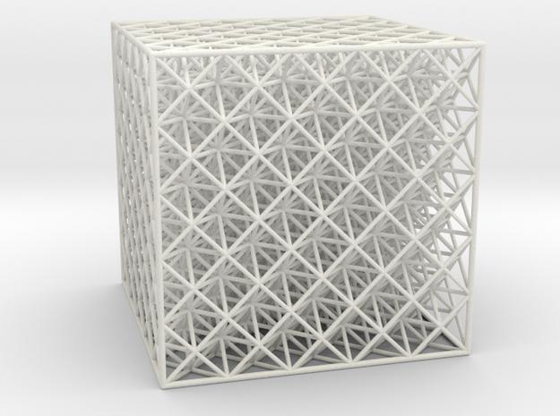 Octet Truss Cube (5x5x5) 3d printed