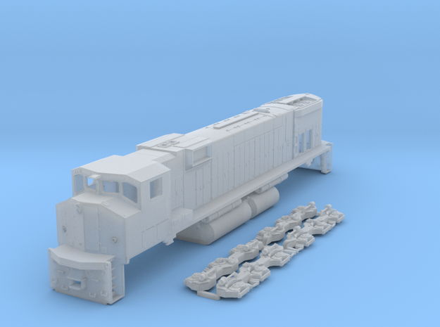 M630w N Scale in Smooth Fine Detail Plastic