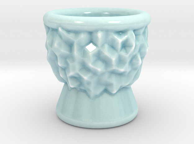 DRAW shot glass - Rocky Rocko in Gloss Celadon Green Porcelain