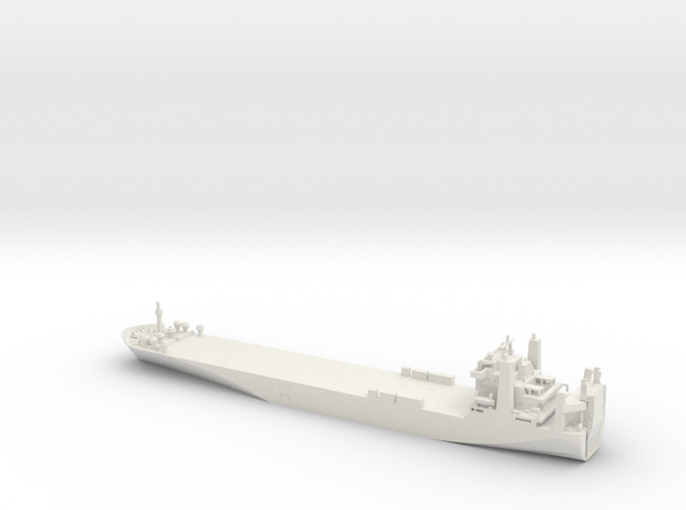 1/700 Scale Sealift Commancd Cape T Ro-Ro Ship in White Strong & Flexible