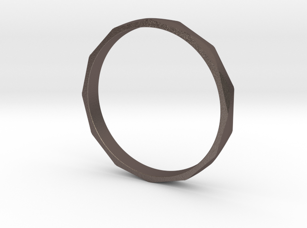 Iron Ring Size 16 in Stainless Steel