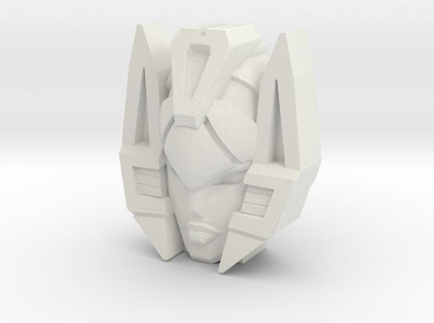Slipstream, WFC Face (Titans Return) in White Natural Versatile Plastic