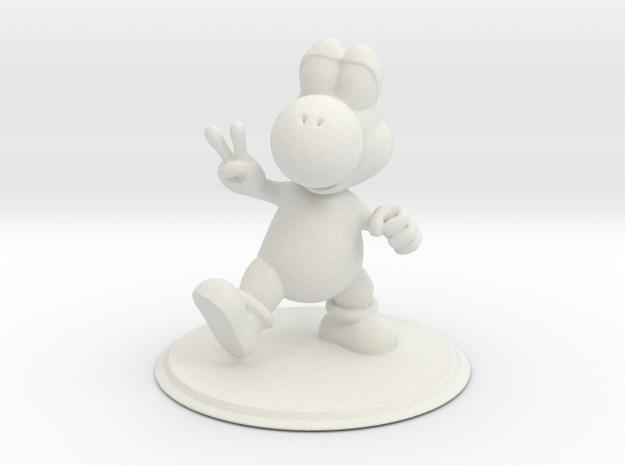 Yoshi in White Natural Versatile Plastic