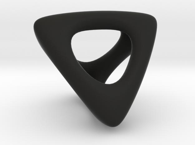TetraHollow 2.0 in Black Natural Versatile Plastic