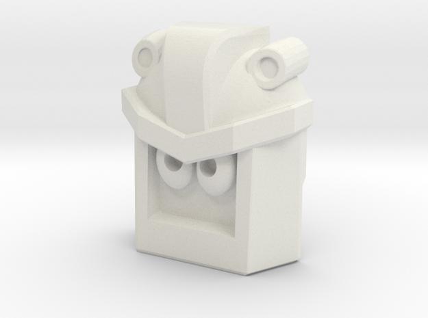 Sogmaster Face (Titans Return) in White Natural Versatile Plastic