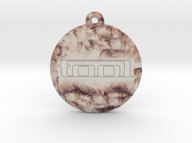 Tool Logo Pendant / Ornament in Full Color Sandstone