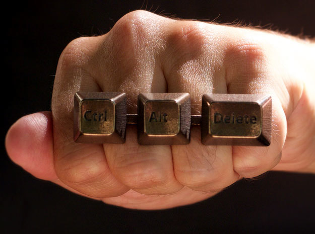 Ctrl+Alt+Del Statement Ring