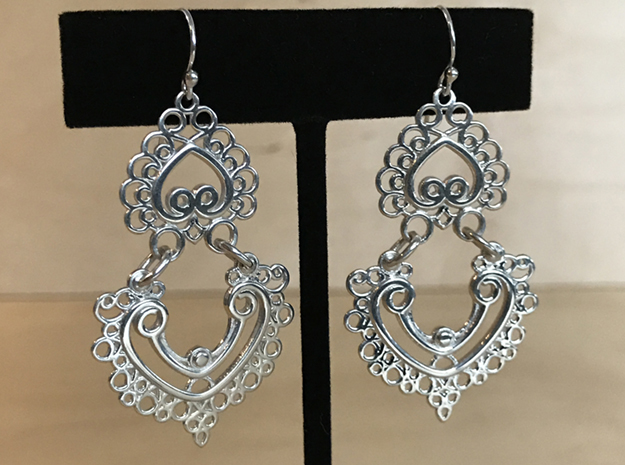 BlakOpal Linked Earring