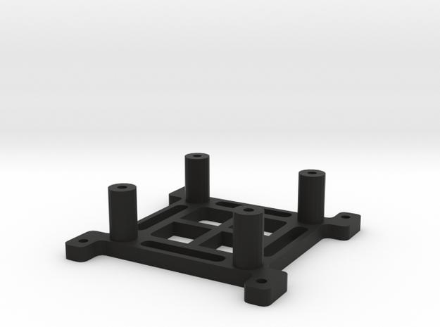 Hendheld Akku/Adapter Plate in Black Strong & Flexible