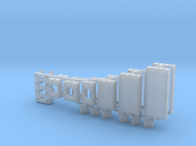 Electrical Service Ver4 ~ O scale in Smooth Fine Detail Plastic