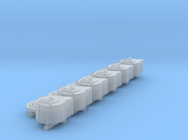 1:20 20mm Spare Magazines in Frosted Ultra Detail