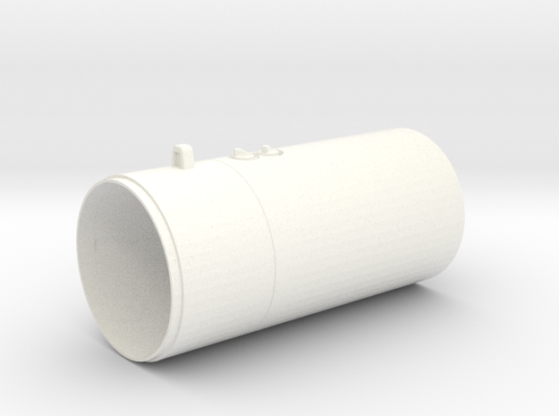 1.8 M261 ROQUETTE LAUNCHER (AC) in White Strong & Flexible Polished
