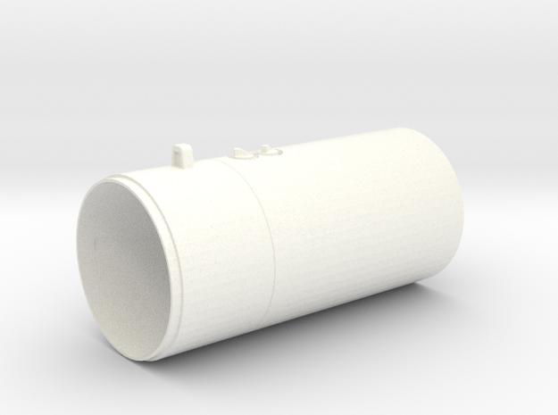 1.8 M261 ROQUETTE LAUNCHER (AC) in White Processed Versatile Plastic