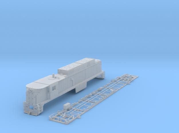 NE3307 N scale E33 loco - Conrail 4608 3d printed