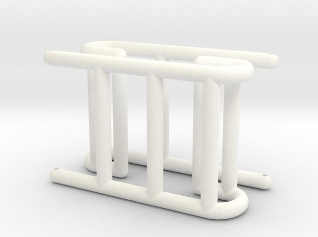 Matilda - Parts 2 & 3: Arms #SAR3DP in White Processed Versatile Plastic