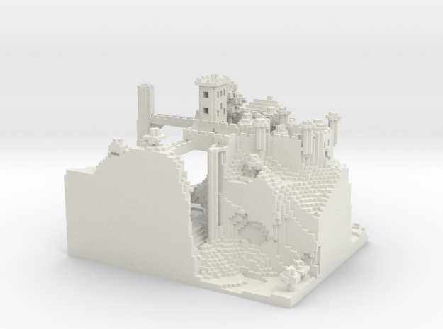 Sentinel Castle 3d printed