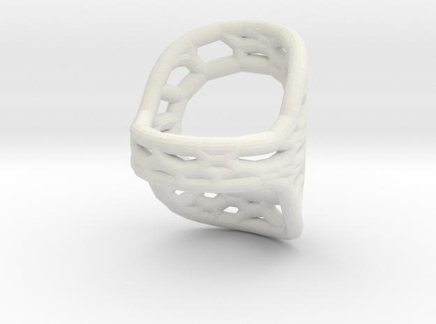 RingSplint US Size-6 in White Natural Versatile Plastic