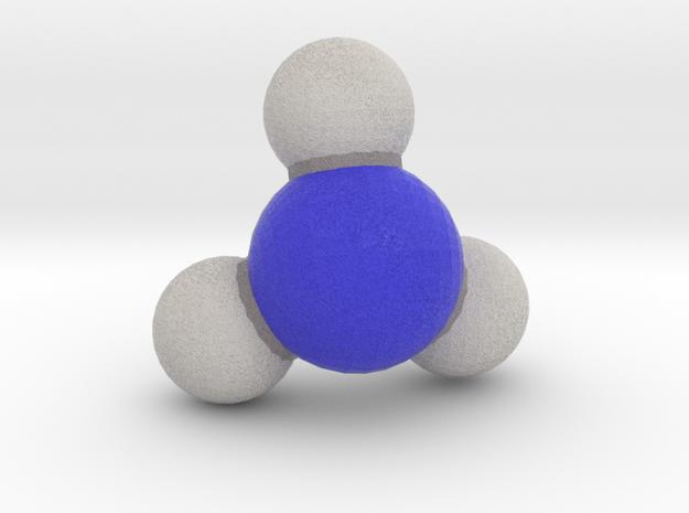 Ammonia (NH3) in Full Color Sandstone