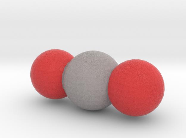 Carbon Dioxide (CO2) in Full Color Sandstone