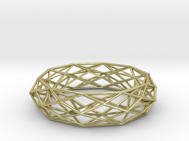 Constructionist Bracelet Sleek 3d printed