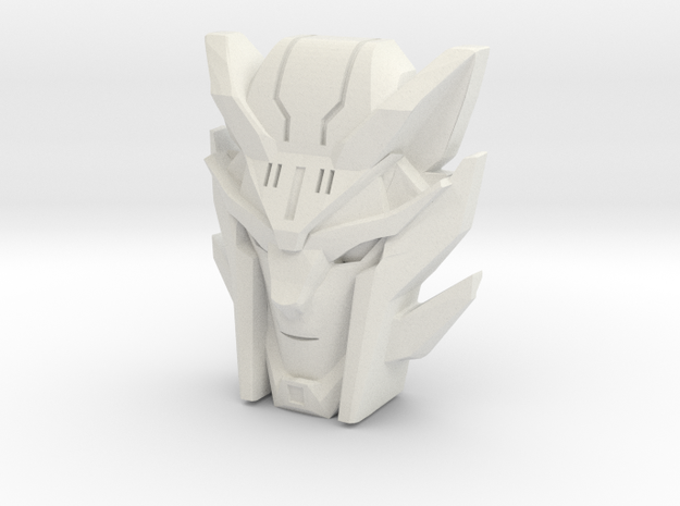 Steeljaw, RID Face (Titans Return) in White Natural Versatile Plastic
