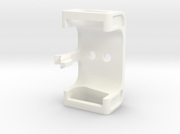 Inspire Monitor Halterung für Dual LiveBild in White Strong & Flexible Polished