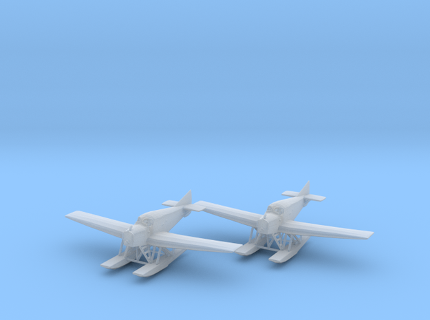 Junkers F.13 (floats) 1:200 x2 FUD in Smooth Fine Detail Plastic