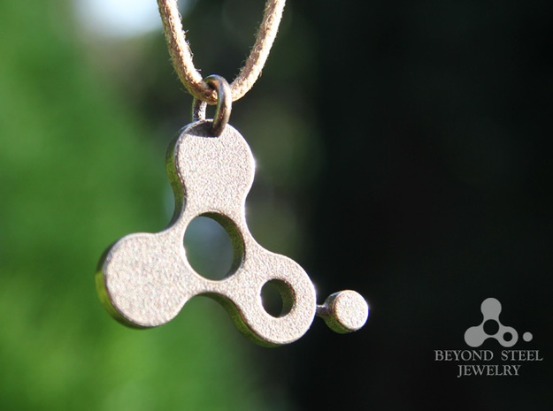Beyond Steel Jewelry in Polished Bronze Steel