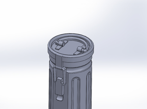 1/48 7,5mm PaK Ammunition Container 3d printed Clip side