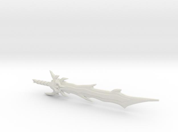 Dark Star Saber, 5mm in White Natural Versatile Plastic
